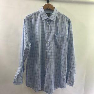 NEIMAN MARCUS🍾Beautiful Classic check dress shirt
